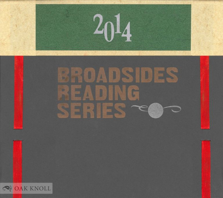 CENTER BROADSIDES 2014 READING SERIES.
