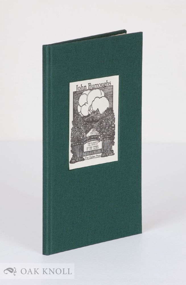 THE SUMMIT OF THE YEARS. John Burroughs.