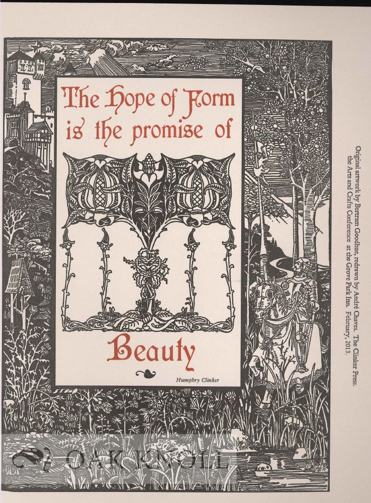 THE HOPE OF FORM IS THE PROMISE OF BEAUTY.