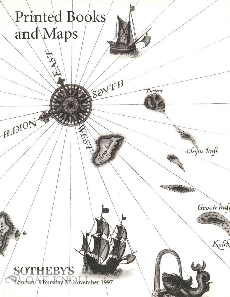 PRINTED BOOKS AND MAPS. Sotheby's.
