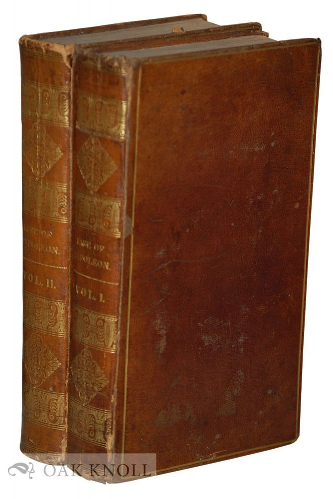 THE LIFE OF NAPOLEON BUONAPARTE, EMPEROR OF THE FRENCH WITH A PRELIMINARY VIEW OF THE FRENCH REVOLUTION. Walter Scott.