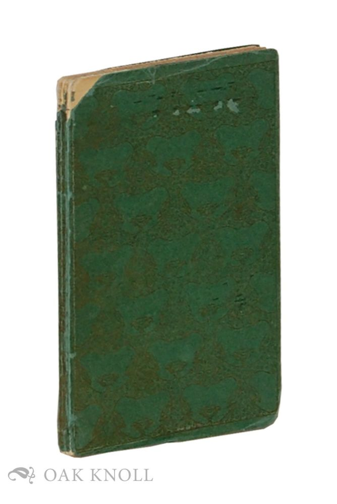 OUR LADY'S TUMBLER. A TWELFTH CENTURY LEGEND TRANSLATED BY PHILIP H. WICKSTEED. Philip Wicksteed.