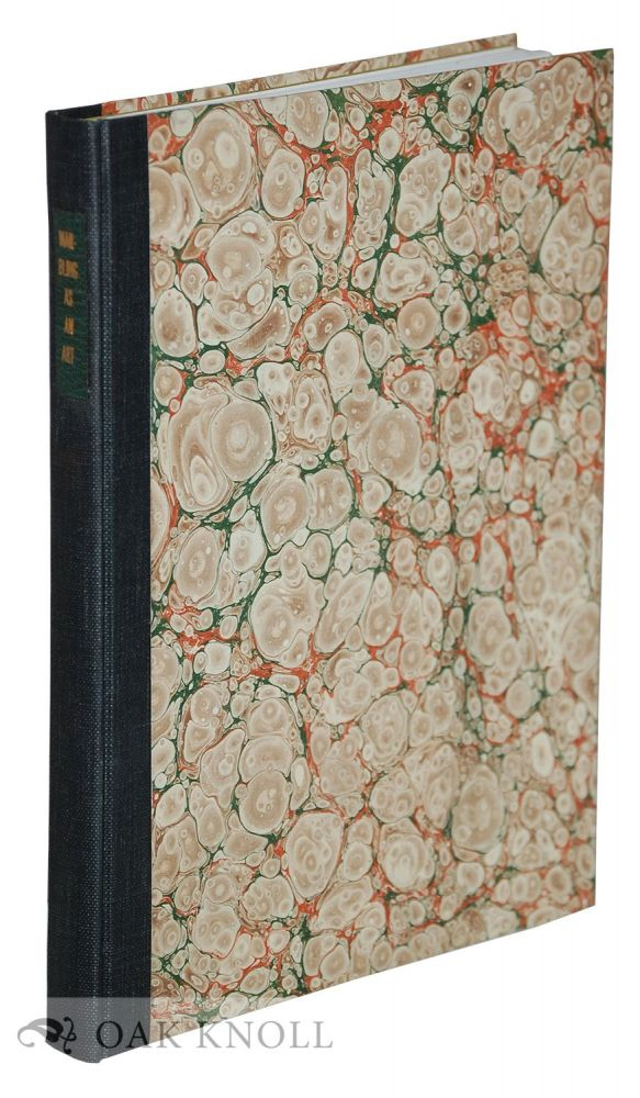 MARBLING AS AN ART AND AS A UNIT FOR CLASSROOM BOOKBINDING. Bruce Walley.
