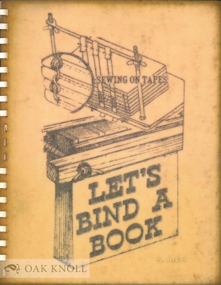 LET'S BIND A BOOK.