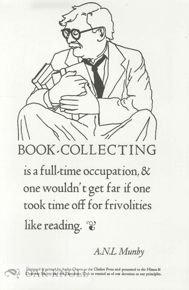 BOOK-COLLECTING. A. N. L. Munby.