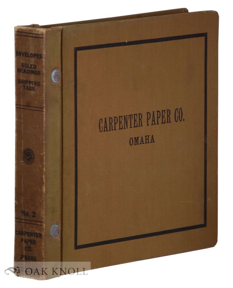 Collection of Business Statioinery. Carpenter.