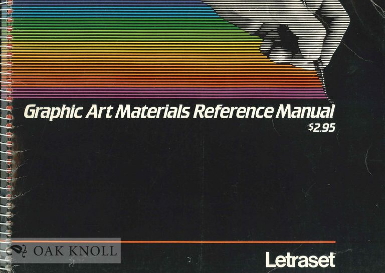 GRAPHIC ART MATERIALS REFERENCE MANUAL.