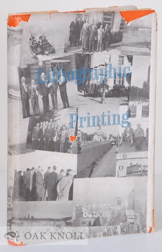 LITHOGRAPHIC PRINTING, REPORT OF A VISIT TO THE U.S.A. IN 1951 OF A PRODUCTIVITY TEAM REPRESENTING THE BRITISH LITHOGRAPHIC PRINTING INDUSTRY.