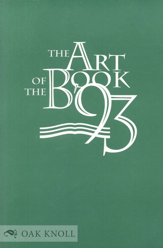 THE ART OF THE BOOK '93.