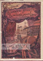 BOUVERIE STREET TO BOWLING GREEN LANE, FIFTY-FIVE YEARS OF SPECIALIZED PUBLISHING. Arthur C. Armstrong.