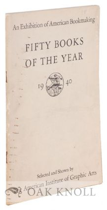 FIFTY BOOKS OF THE YEAR