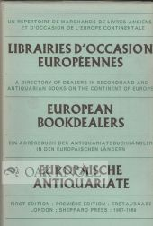 EUROPEAN BOOKDEALERS, 1967-1969