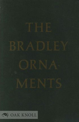 EXPERIMENTS WITH THE BRADLEY COMBINATION ORNAMENTS. Leonard Bahr.