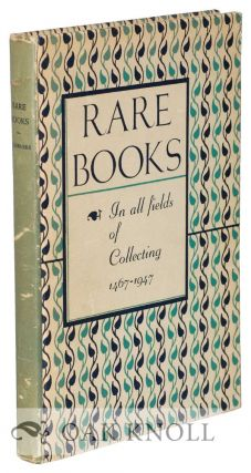 SELECTIONS FROM SCRIBNER'S STOCK OF RARE BOOKS. 135