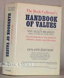 BOOK COLLECTOR'S HANDBOOK OF VALUES, 1978-1979