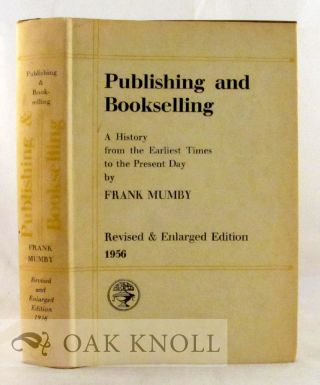 PUBLISHING AND BOOKSELLING 4TH ED