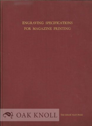 ENGRAVING SPECIFICATIONS FOR MAGAZINE PRINTING