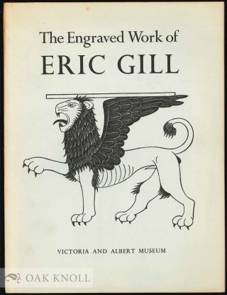 THE ENGRAVED WORK OF ERIC GILL.