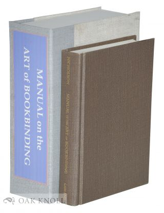 A MANUAL OF THE ART OF BOOKBINDING.