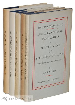 PHILLIPPS STUDIES. A. N. L. Munby.