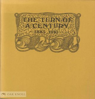 THE TURN OF A CENTURY, 1885-1910 ART NOUVEAU - JUGENDSTIL BOOKS. Peter A. Wick.