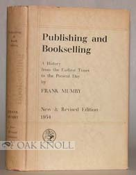 PUBLISHING AND BOOKSELLING