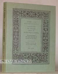 CATALOGUE OF THE CELEBRATED LIBRARY, THE SEVENTH PORTION: FORTY-THREE MANUSCRIPTS OF THE 9TH TO...