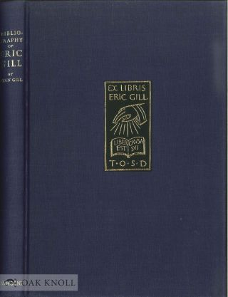 BIBLIOGRAPHY OF ERIC GILL