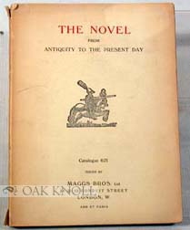 THE NOVEL FROM ANTIQUITY TO THE PRESENT DAY. 621