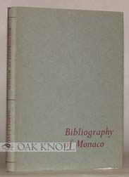 BIBLIOGRAPHY OF MONACO. Geoffrey Handley-Taylor