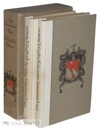 CANTERBURY TALES. Rendered into Modern English Verse by Frank Ernest Hill. Geoffrey Chaucer