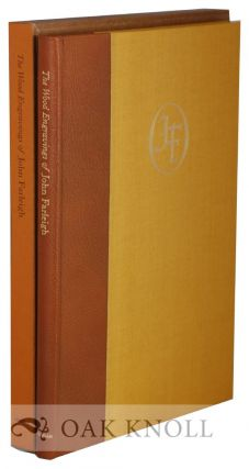 WOOD ENGRAVINGS OF JOHN FARLEIGH With a Foreword by H.R.H. The Prince Philip. Monica Poole