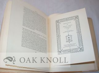 Suppressed plate from A MAGNIFICENT FARCE AND OTHER DIVERSIONS OF A BOOK-COLLECTOR