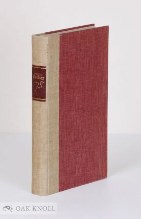 GROLIER 75, A BIOGRAPHICAL RETROSPECTIVE TO CELEBRATE THE SEVENTY-FIFTH ANNIVERSARY OF THE...