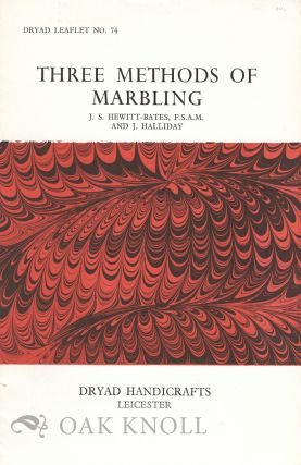 THREE METHODS OF MARBLING. J. S. Hewitt-Bates, J. Halliday
