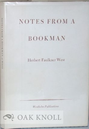NOTES FROM A BOOKMAN