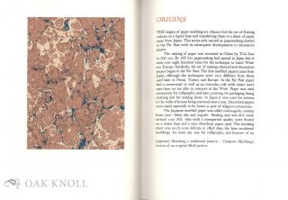THE COMPTON MARBLING PATTERN BOOK.