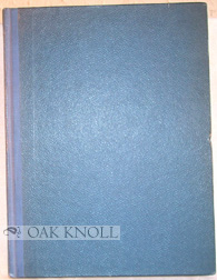 CATALOGUE OF THE PERIODICALS RELATING TO PRINTING & ALLIED SUBJECTS IN THE TECHNICAL LIBRARY...