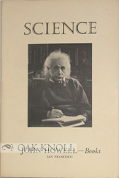 SCIENCE, DISCOVERIES AND OTHER WORKS OF IMPORTANCE FROM THE 14TH TO THE 20TH CENTURY. CATALOGUE 48