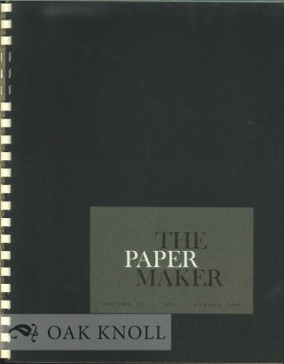 THE PAPER MAKER