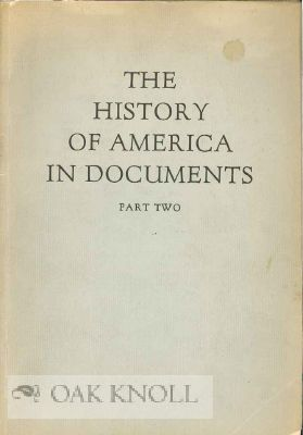 HISTORY OF AMERICA IN DOCUMENTS. PART TWO.