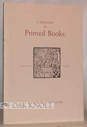 SELECTION OF PRINTED BOOKS
