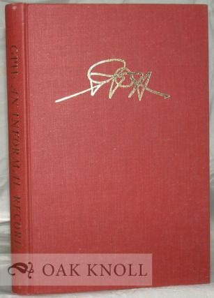 GPH, AN INFORMAL RECORD OF GEORGE P. HAMMOND AND HIS ERA IN THE BANCROFT LIBRARY