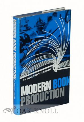 MODERN BOOK PRODUCTION. Dorothy Harrop