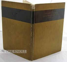 THIRTY BOOKS AND MANUSCRIPTS FROM THE ALBERT M. BENDER COLLECTION OF MILLS COLLEGE.