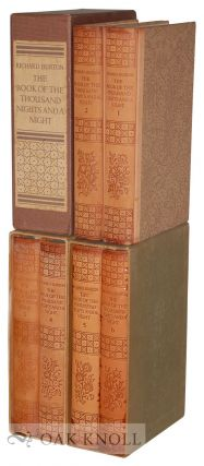 THE BOOK OF THE THOUSAND NIGHTS AND A NIGHT, A PLAIN AND LITERAL TRANSLATION OF THE ARABIAN...