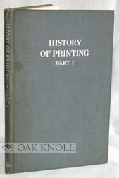 A BRIEF HISTORY OF PRINTING. Frederick W. Hamilton