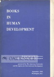 BOOKS IN HUMAN DEVELOPMENT