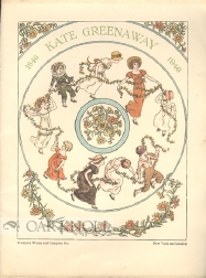 A CENTURY OF KATE GREENAWAY. Anne Carroll Moore