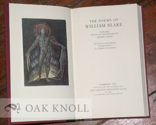 THE POEMS OF WILLIAM BLAKE.